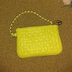 Gianni Bini quilted wristlet clutch
